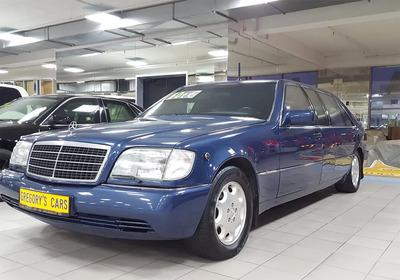 Выставлен на продажу первый лимузин Mercedes-Benz Бориса Ельцина