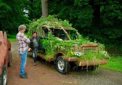 Японцы предложили делать автомобили из дерева вместо стали
